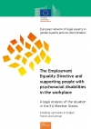 The Employment Equality Directive and supporting people with psychosocial disabilities in the workplace